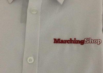 Overhemd met eigen borduring
