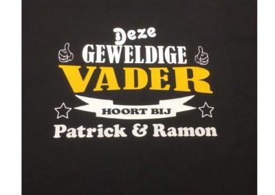 T-shirt met eigen opdruk