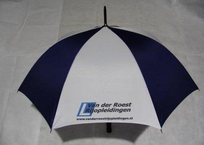 Paraplu met eigen opdruk